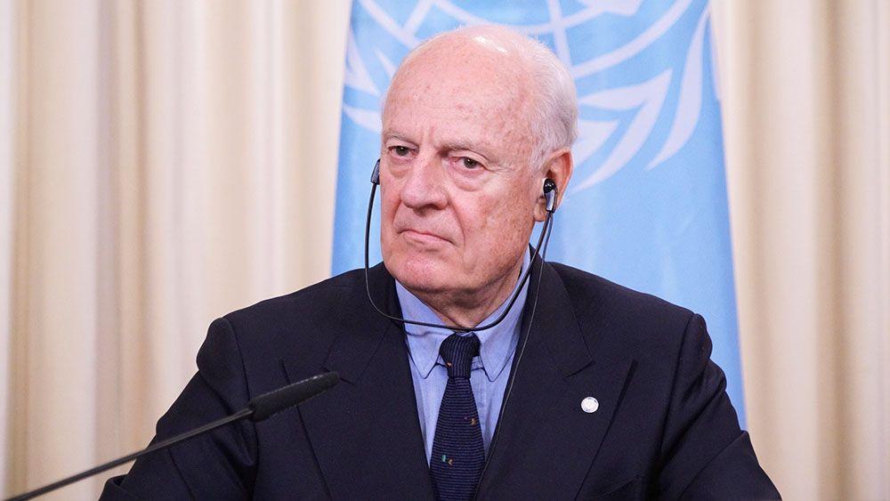 Спецпосланник ООН по Сирии Стаффан де Мистура заявил что уходит со своего поста